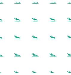 plane landing icon pattern seamless white vector image