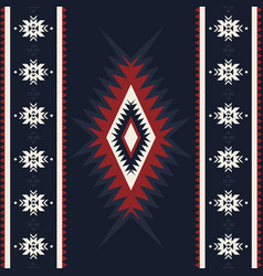 tribal kilim abstract geometric ornament ethnic vector image