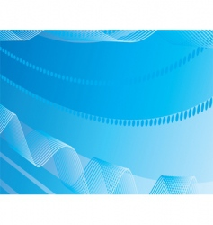 abstract background of blue stripes vector image
