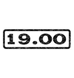 1900 watermark stamp vector