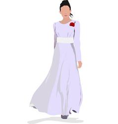 al 0338 bride vector image