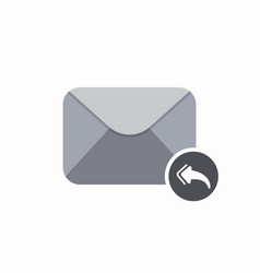 all email envelope mail message reply icon vector image