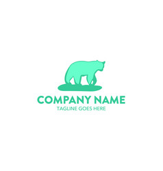 Bear logo-2 vector