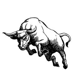 Bull 3 vector