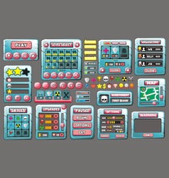 Game gui 56 vector