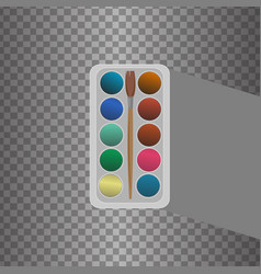 Icon palette vector