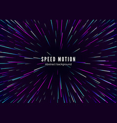 infinity and space speed motion abstract vector image