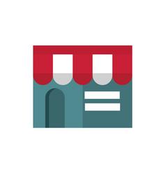 market building online business commerce shopping vector image