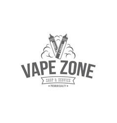 vape badges vector image