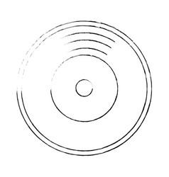 vinyl icon image vector image