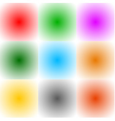 9 radial gradient monochrome square format vector
