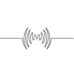 Audio sound wave music waveform pulse audio vector