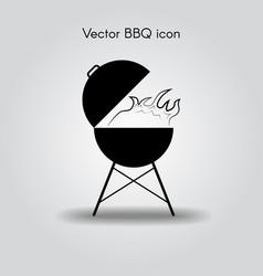 Bbq icon vector