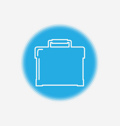 briefcase icon sign symbol vector image