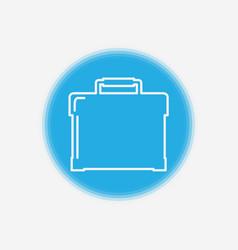 briefcase icon sign symbol vector image