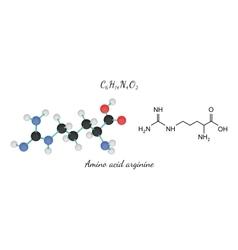 C6H14N4O2 amino acid Arginine molecule vector