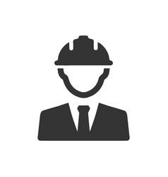 Civil engineer icon vector