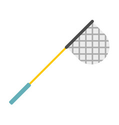 Fishing net icon flat style vector