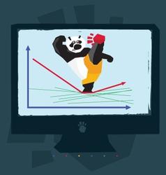 Google panda vector