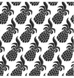 pineapple fruit vector image