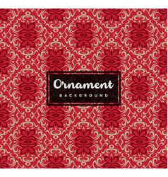 seamless decorative ornamental background with vector image