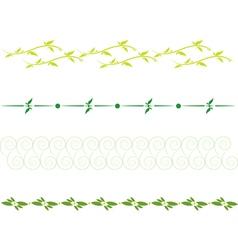 Set dividing lines vector