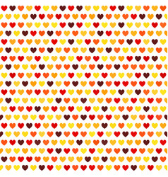 heart pattern seamless love background vector image vector image