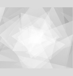 Abstract futuristic background white and gray vector