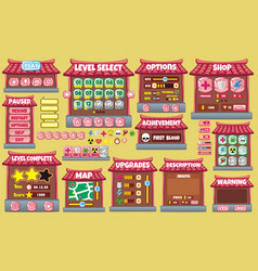 Game gui 61 vector