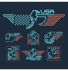 Made in the USA vector