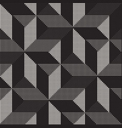 seamless geometric pattern regular tiled vector image