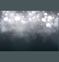 soft bokeh dark abstract background festive vector image