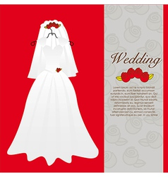 Dress gala vector images 29 wedding dress wedding invitation vector stopboris