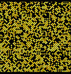 yellow seamless dot pattern background - design vector image