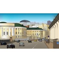 City lendskeyp vector image
