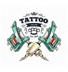 Tattoo Print 3 vector image vector image