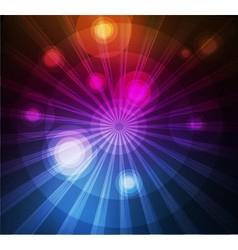 Abstract dark light background vector