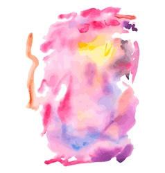 Abstract fancy watercolor background vector