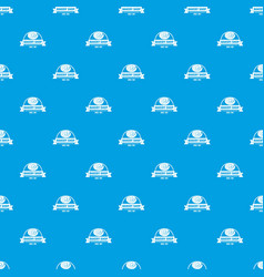 bakery shop pattern seamless blue vector image