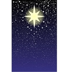 Brightest Star vector image
