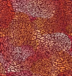 hot animal seamless skin vector image