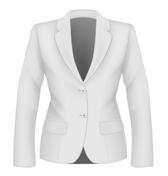 Ladies suit jacket vector image