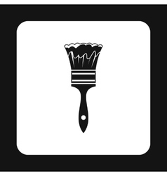 Paint brush icon simple style vector image