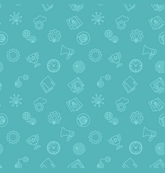Startup seamless pattern or background vector