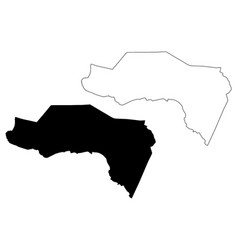 westmoreland parish parishes jamaica cornwall vector image