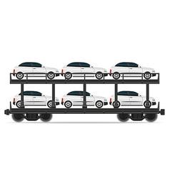 railway carriage 07a vector image vector image