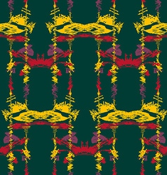 Seamless ikat pattern2 vector image vector image