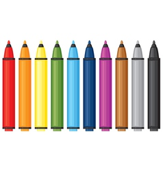 markers vector image vector image