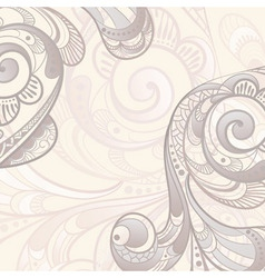 Abstract swirls background vector