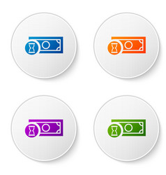 color fast payments icon isolated on white vector image